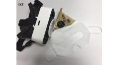 productos no tejidos, gafas 3D VR, ojos protectores, máscaras para los ojos