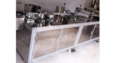 máquina de fabricación de gorros de la mafia, máquina de fabricación de cubiertas de barba, productos desechables