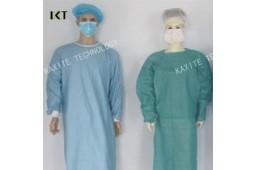 Desechables, bata quirúrgica, SMS, no tejida