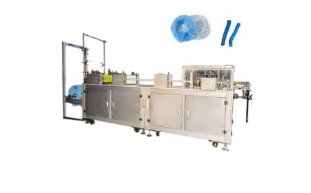 Máquina para fabricar tapones bouffant no tejidos